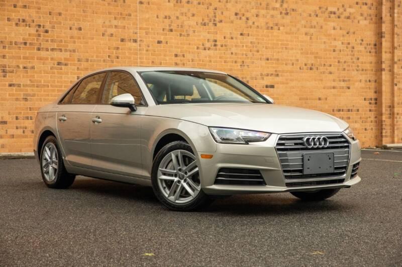 2017 Audi A4 for sale at Vantage Auto Wholesale in Moonachie NJ