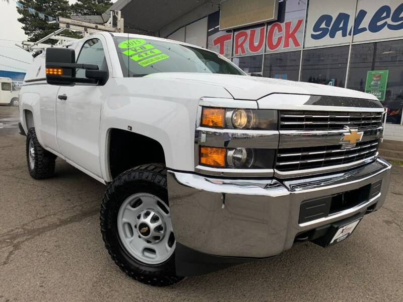 2015 Chevrolet Silverado 2500HD for sale at Xtreme Truck Sales in Woodburn OR