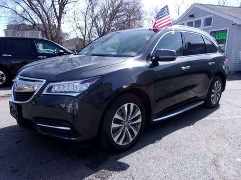 2014 Acura MDX for sale at Top Line Import in Haverhill MA