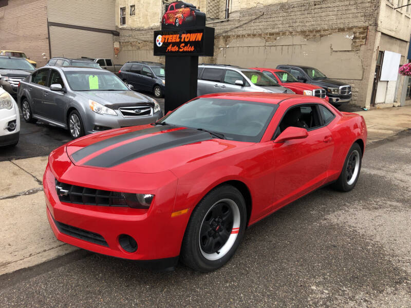 2013 Chevrolet Camaro for sale at STEEL TOWN PRE OWNED AUTO SALES in Weirton WV