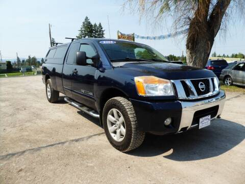 2008 Nissan Titan for sale at VALLEY MOTORS in Kalispell MT