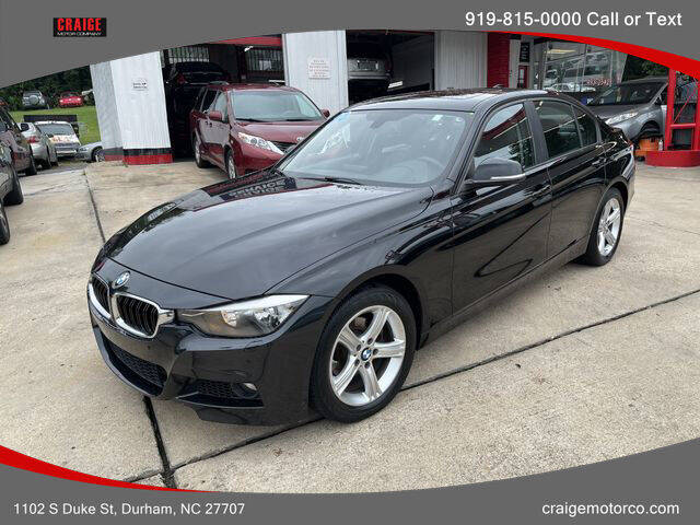 2014 BMW 3 Series for sale at CRAIGE MOTOR CO in Durham NC