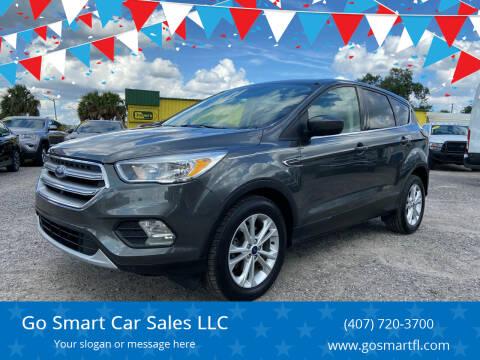 2017 Ford Escape for sale at Go Smart Car Sales LLC in Winter Garden FL