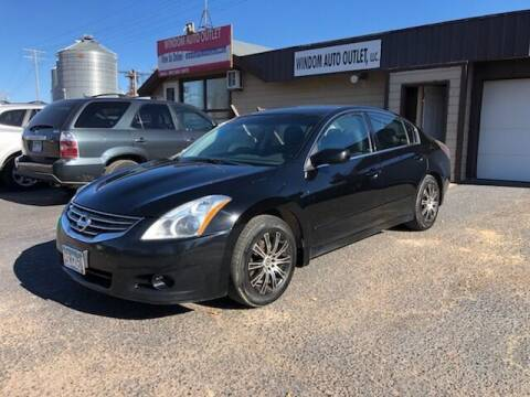 2012 Nissan Altima for sale at WINDOM AUTO OUTLET LLC in Windom MN