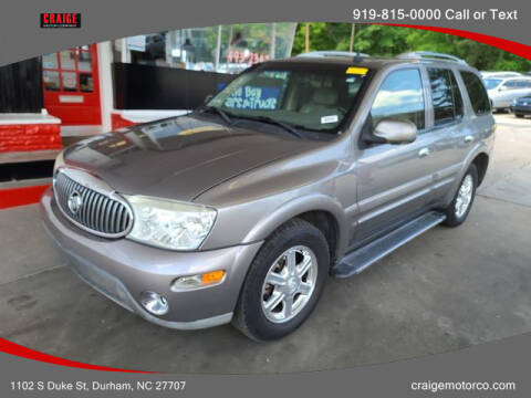 2006 Buick Rainier for sale at CRAIGE MOTOR CO in Durham NC