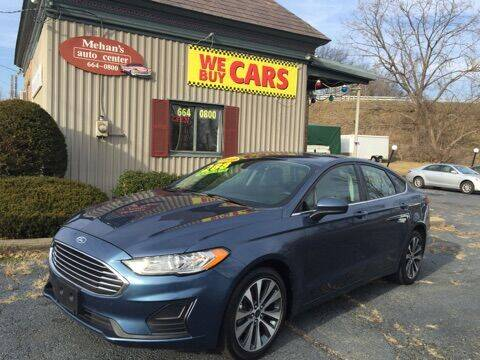 2019 Ford Fusion for sale at Mehan's Auto Center in Mechanicville NY