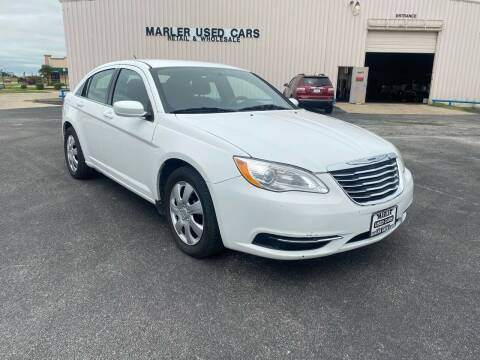 2012 Chrysler 200 for sale at MARLER USED CARS in Gainesville TX