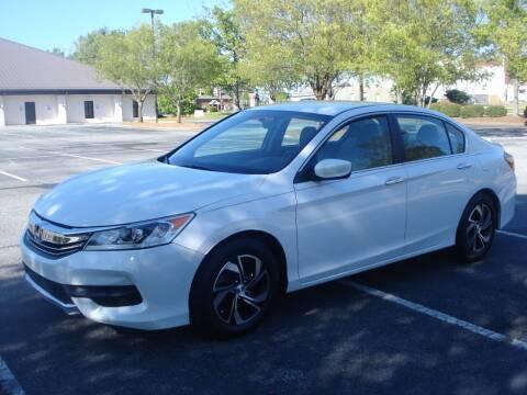 2016 Honda Accord for sale at Uniworld Auto Sales LLC. in Greensboro NC