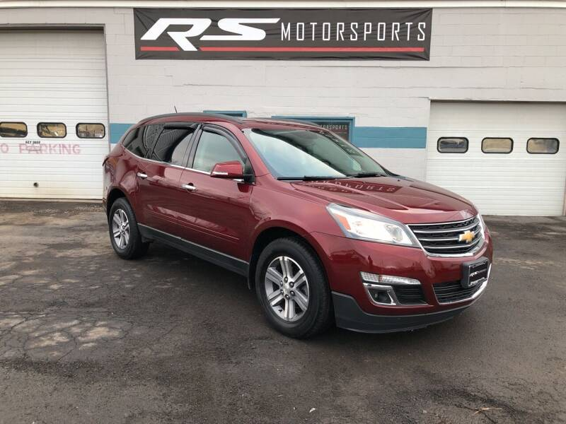 2016 Chevrolet Traverse for sale at RS Motorsports, Inc. in Canandaigua NY