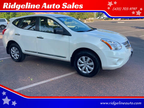 2011 Nissan Rogue for sale at Ridgeline Auto Sales in Saint George UT