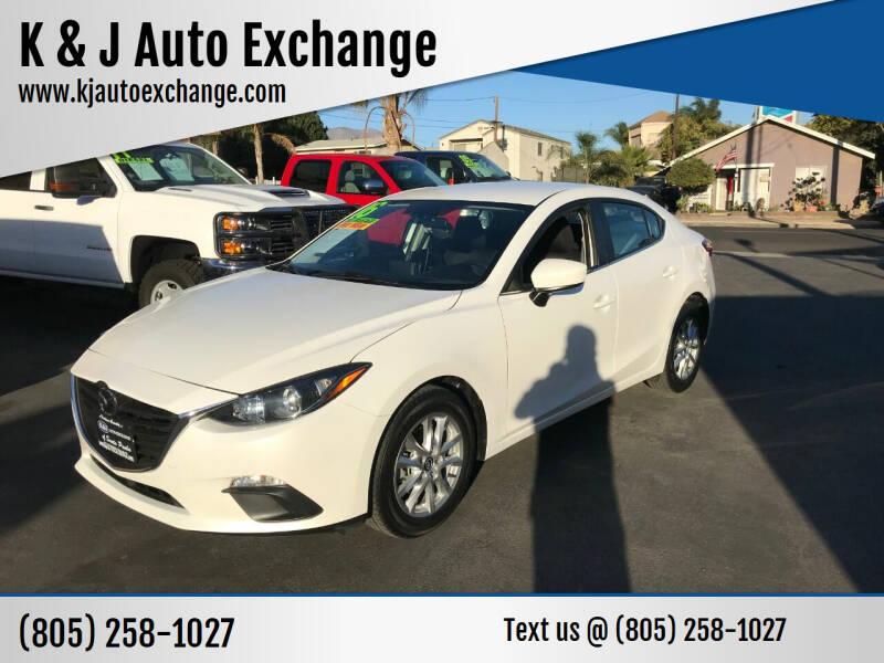 2016 Mazda MAZDA3 for sale at K & J Auto Exchange in Santa Paula CA