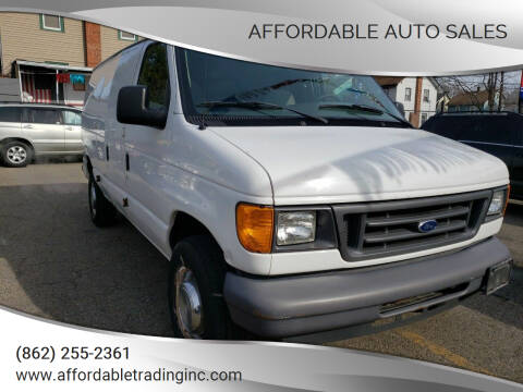 2006 Ford E-Series Cargo for sale at Affordable Auto Sales in Irvington NJ