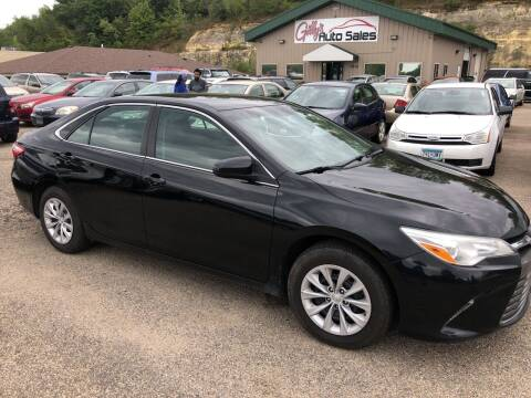 2015 Toyota Camry for sale at Gilly's Auto Sales in Rochester MN