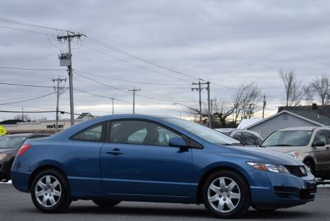 2010 Honda Civic for sale at Broadway Garage of Columbia County Inc. in Hudson NY