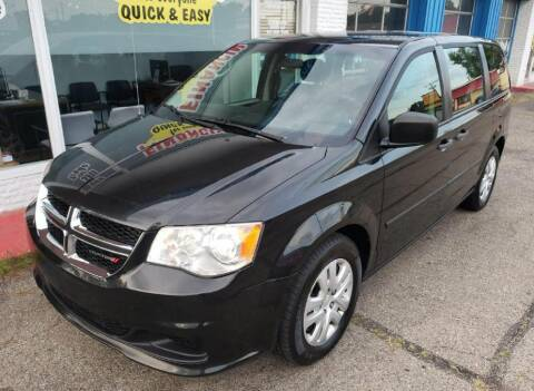 2014 Dodge Grand Caravan for sale at AutoMotion Sales in Franklin OH