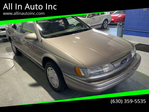 1995 Ford Taurus for sale at All In Auto Inc in Addison IL