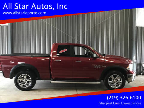 2013 RAM Ram Pickup 1500 for sale at All Star Autos, Inc in La Porte IN