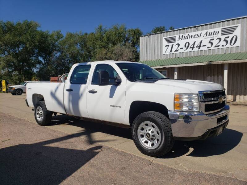 2011 Chevrolet Silverado 3500HD for sale at Midwest Auto of Siouxland, INC in Lawton IA