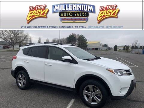 2015 Toyota RAV4 for sale at Millennium Auto Sales in Kennewick WA