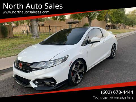 2015 Honda Civic for sale at North Auto Sales in Phoenix AZ