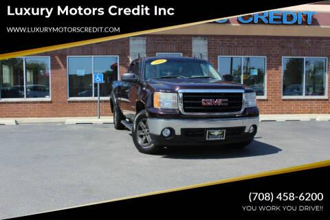 2008 GMC Sierra 1500 for sale at Luxury Motors Credit Inc in Bridgeview IL
