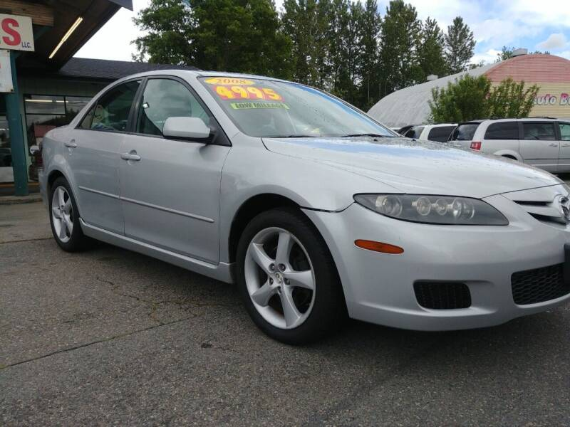 2008 Mazda MAZDA6 for sale at Low Auto Sales in Sedro Woolley WA