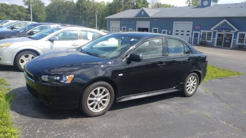 2010 Mitsubishi Lancer for sale at Pool Auto Sales Inc in Spencerport NY
