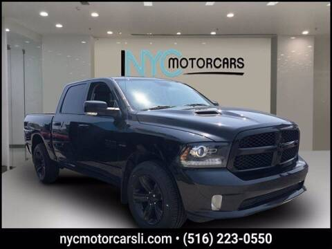 2018 RAM Ram Pickup 1500 for sale at NYC Motorcars in Freeport NY