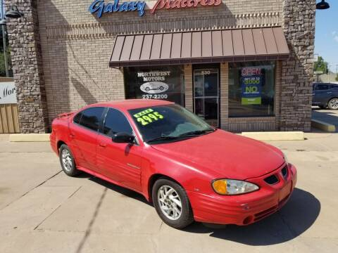 2001 Pontiac Grand Am for sale at NORTHWEST MOTORS in Enid OK