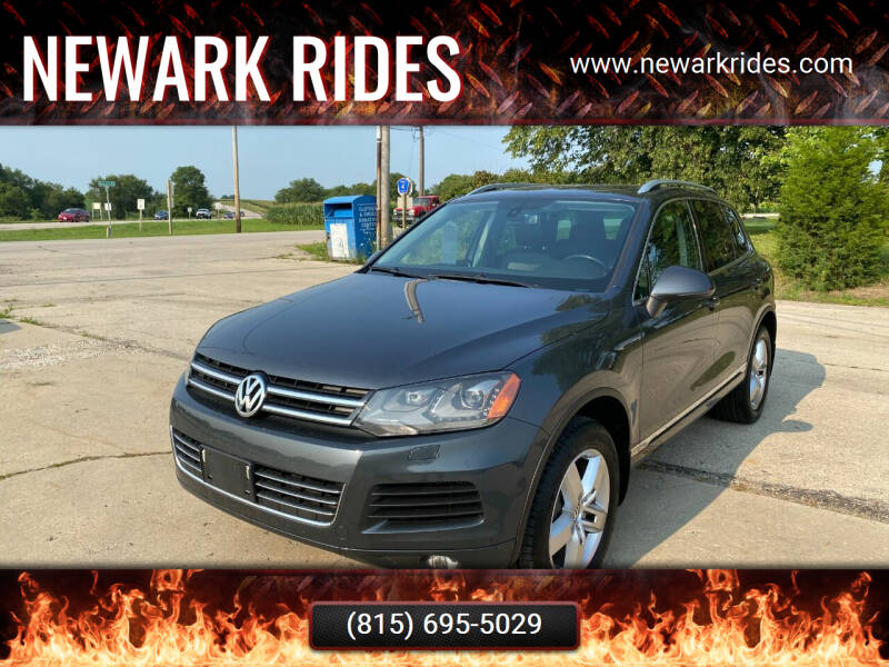 2013 Volkswagen Touareg for sale at Newark Rides in Newark IL