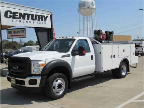 2014 Ford F-550 Super Duty for sale at CENTURY TRUCKS & VANS in Grand Prairie TX