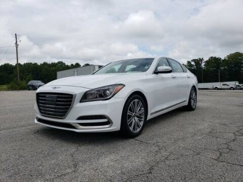 2018 Genesis G80 for sale at Hardy Auto Resales in Dallas GA