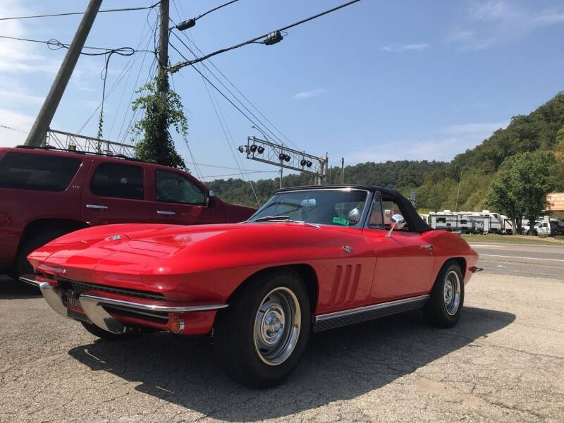 1966 Chevrolet Corvette for sale at PIONEER USED AUTOS & RV SALES in Lavalette WV