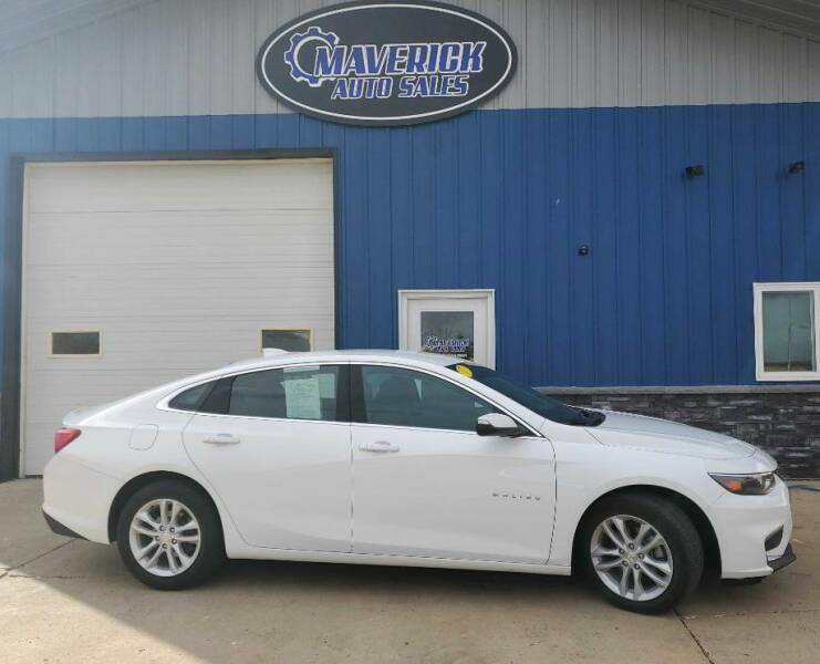 2017 Chevrolet Malibu for sale at Maverick Automotive in Arlington MN