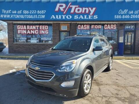 2017 Chevrolet Equinox for sale at R Tony Auto Sales in Clinton Township MI