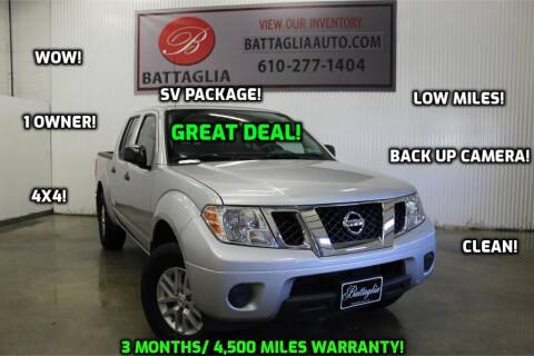 2019 Nissan Frontier for sale at Battaglia Auto Sales in Plymouth Meeting PA