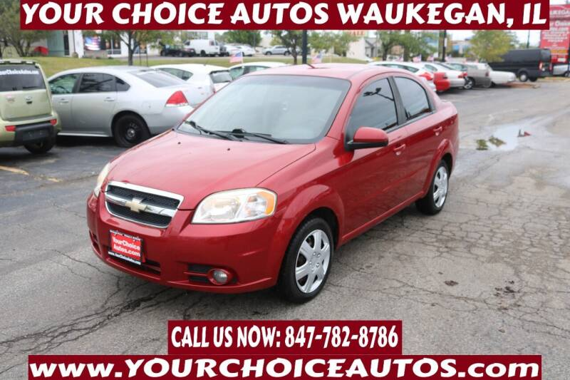 2011 Chevrolet Aveo for sale at Your Choice Autos - Waukegan in Waukegan IL