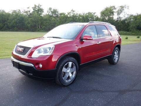 2012 GMC Acadia for sale at MIKES AUTO CENTER in Lexington OH