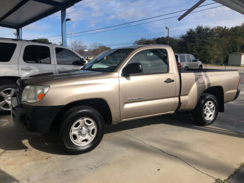 2007 Toyota Tacoma for sale at Mac's Auto Sales in Camden SC