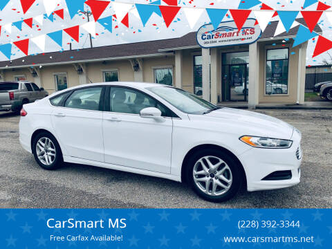 2016 Ford Fusion for sale at CarSmart MS in Diberville MS