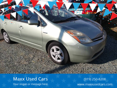 2007 Toyota Prius for sale at Maxx Used Cars in Pittsboro NC