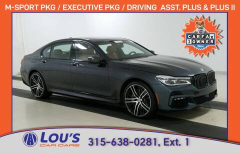 2017 BMW 7 Series for sale at LOU'S CAR CARE CENTER in Baldwinsville NY