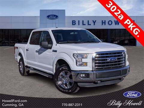 2015 Ford F-150 for sale at BILLY HOWELL FORD LINCOLN in Cumming GA