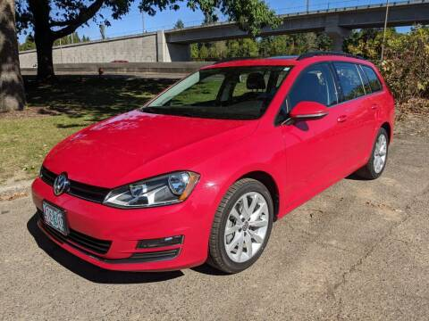 2017 Volkswagen Golf SportWagen for sale at EXECUTIVE AUTOSPORT in Portland OR