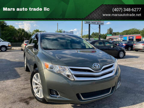 2013 Toyota Venza for sale at Mars auto trade llc in Kissimmee FL