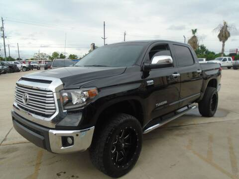 2014 Toyota Tundra for sale at Premier Foreign Domestic Cars in Houston TX