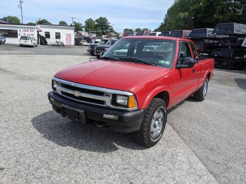 1997 Chevrolet S-10 for sale at M & M Inc. of York in York PA