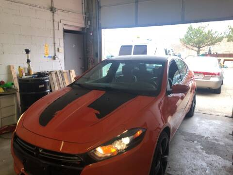 2015 Dodge Dart for sale at Cargo Vans of Chicago LLC in Mokena IL
