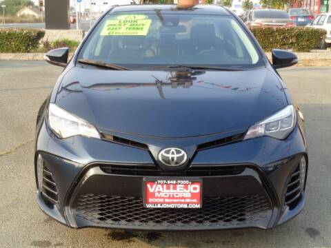 2018 Toyota Corolla for sale at Vallejo Motors in Vallejo CA