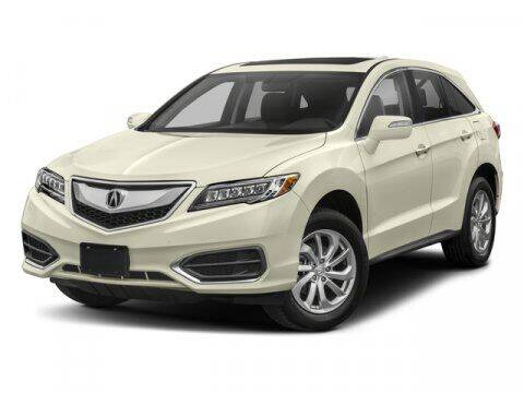 2018 Acura RDX for sale at Auto Finance of Raleigh in Raleigh NC